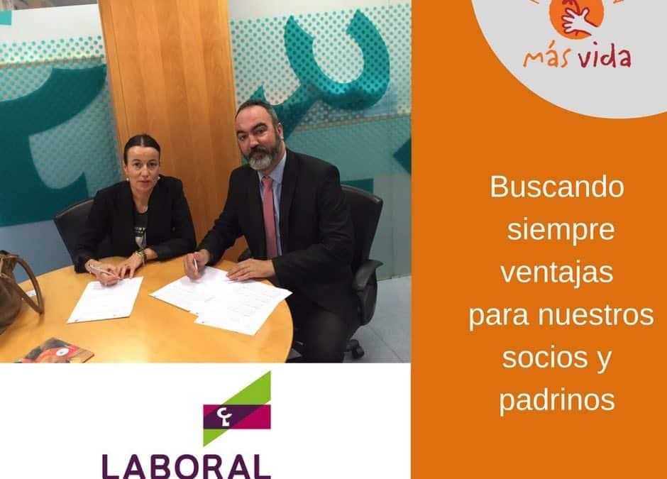 Acuerdo Caja Labora y Fundación Más Vida