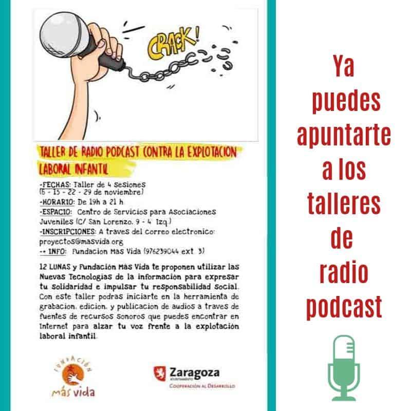 Radio podcast contra la Explotación laboral infantil