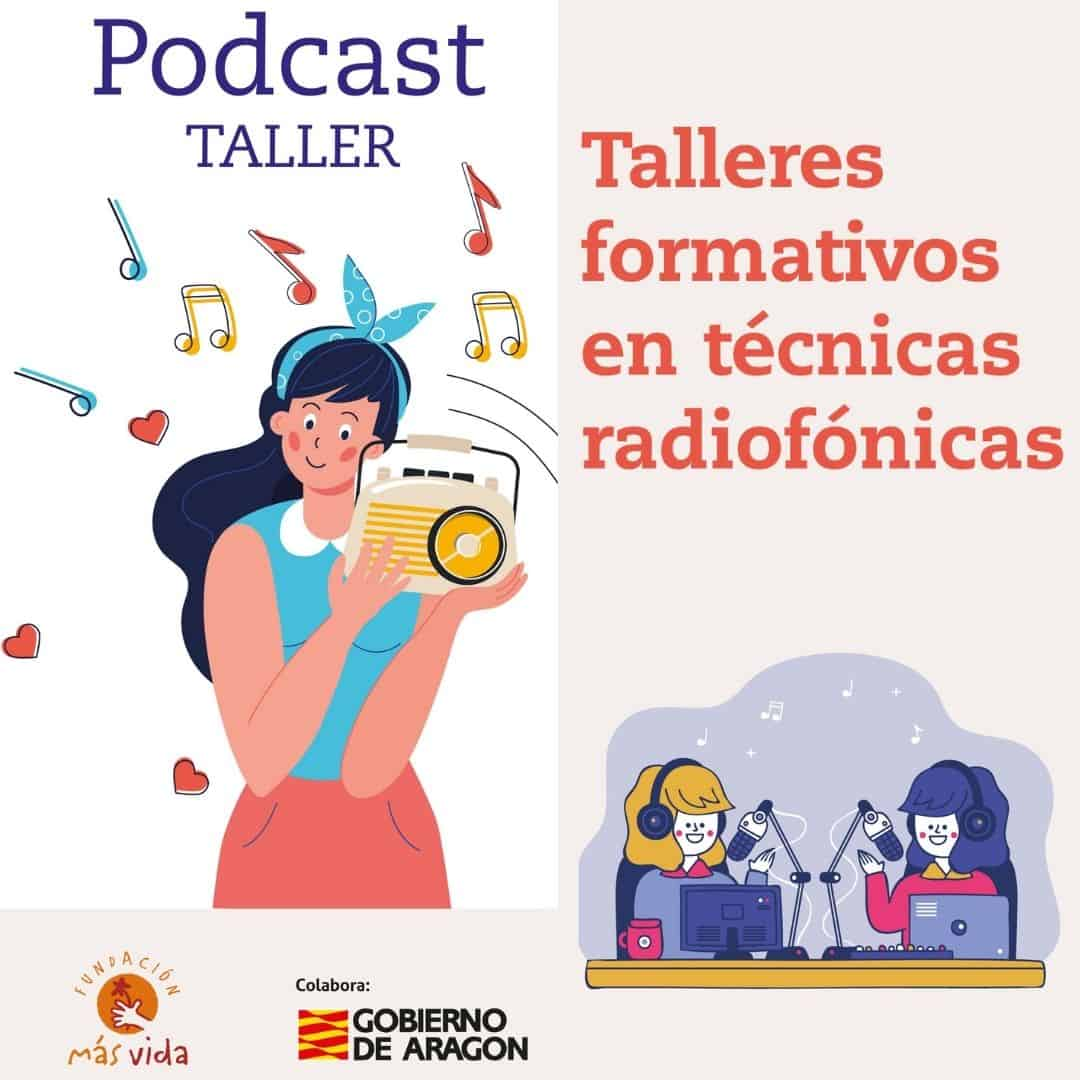 TALLERES PODCAST REDES