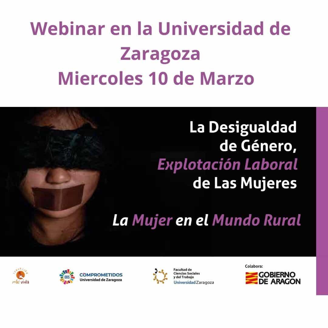 Webinar en universidad de Zaragoza