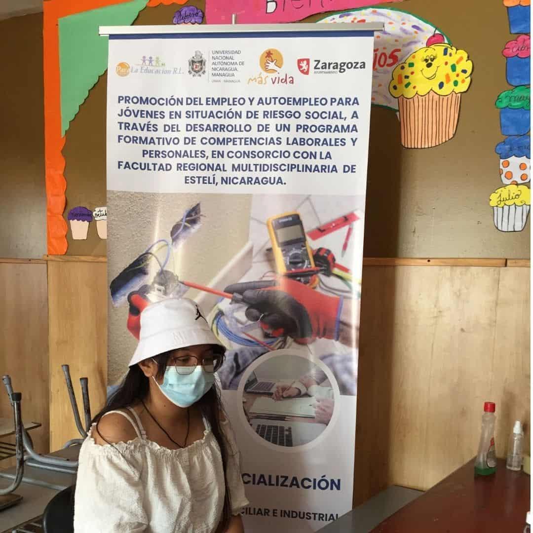 formación jóvenes Nicaragua